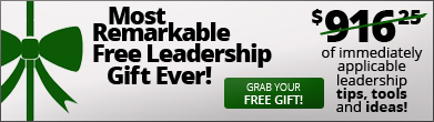 The Most Remarkable Free Leadership Gift