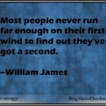 Finding Your Second Wind