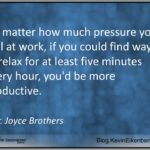 Five Minutes to Greater Productivity and Better Results