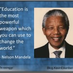 Nelson Mandela quotation on eductaion