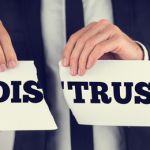 The Cost of Distrust