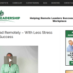 Attention Remote Leaders – This Site is for YOU