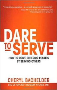 Dare to Serve leadership book