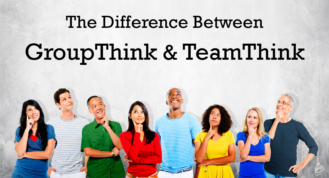 what is group think Groupthink is a psychological phenomenon that occurs within a group of people in which the desire for harmony or conformity in the group results in an irrational or.