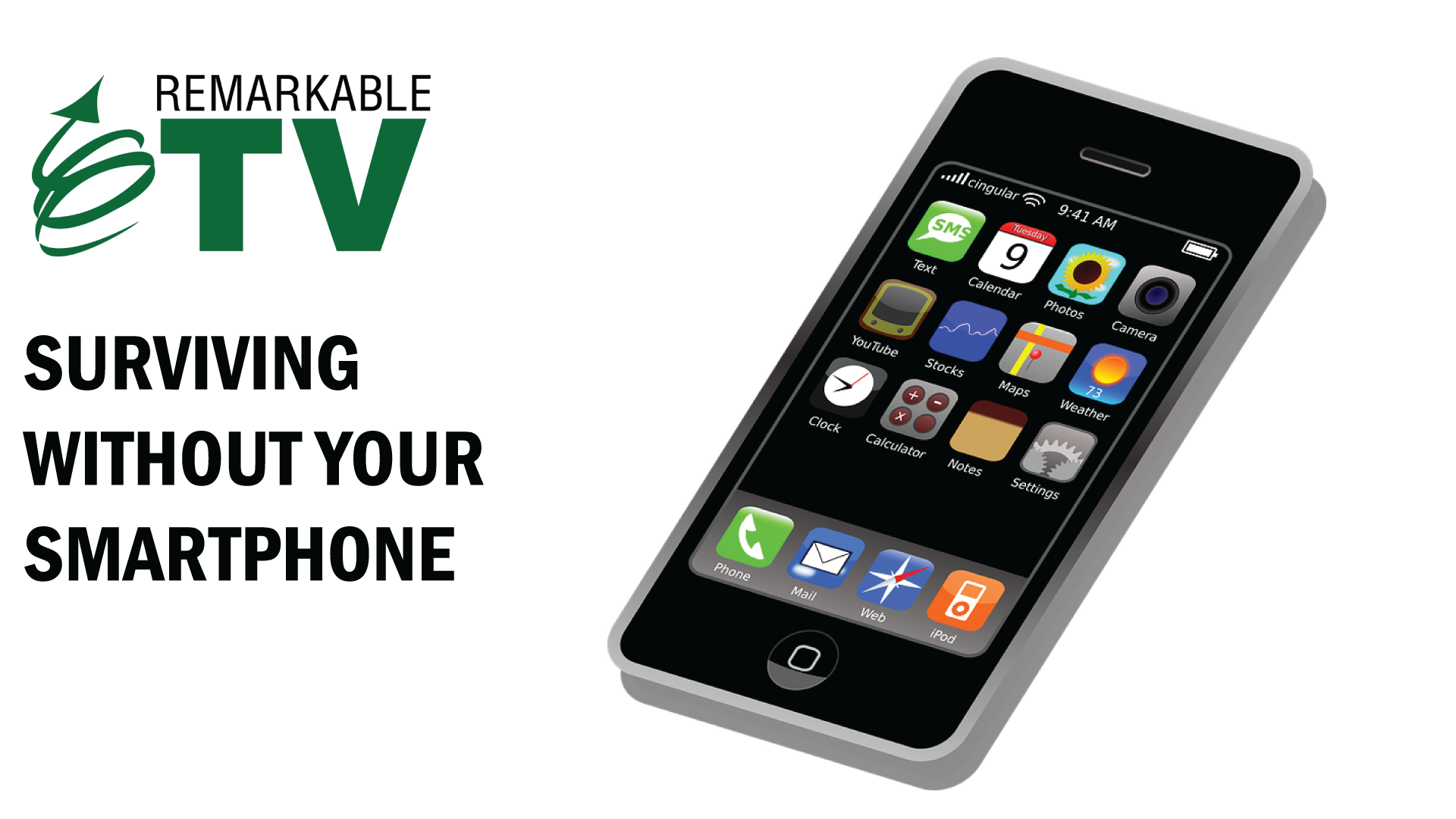 Surviving without your smartphone - Remarkable TV with Kevin Eikenberry