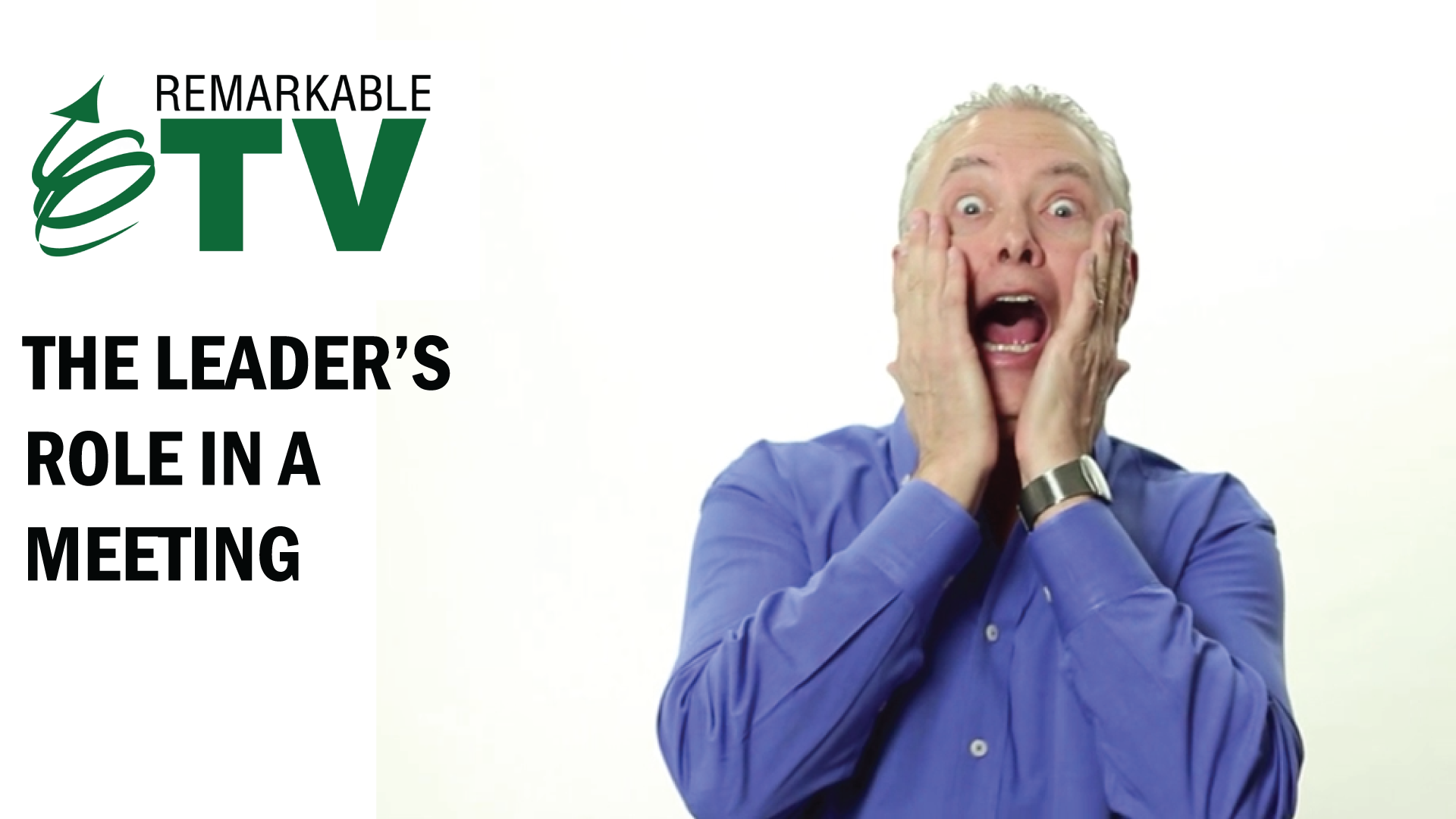 Meetings shouldn't make us scream. We can avoid having these meeting horror stories by knowing the leader's role in a meeting. Find out what we mean in this episode of Remarkable TV with Kevin Eikenberry.
