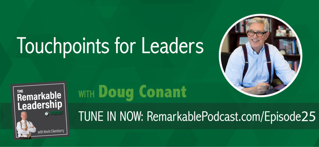 In today's not-to-be-missed episode, Doug Conant, founder of Conant Leadership, former CEO and President of Campbell Soup, and best-selling author, turns leadership on its head, by asserting that daily interruptions leaders face are actually the moments that hold the greatest opportunity for effective leadership. Whether you're new to the leadership game or a seasoned champion, this is one episode you cannot miss!
