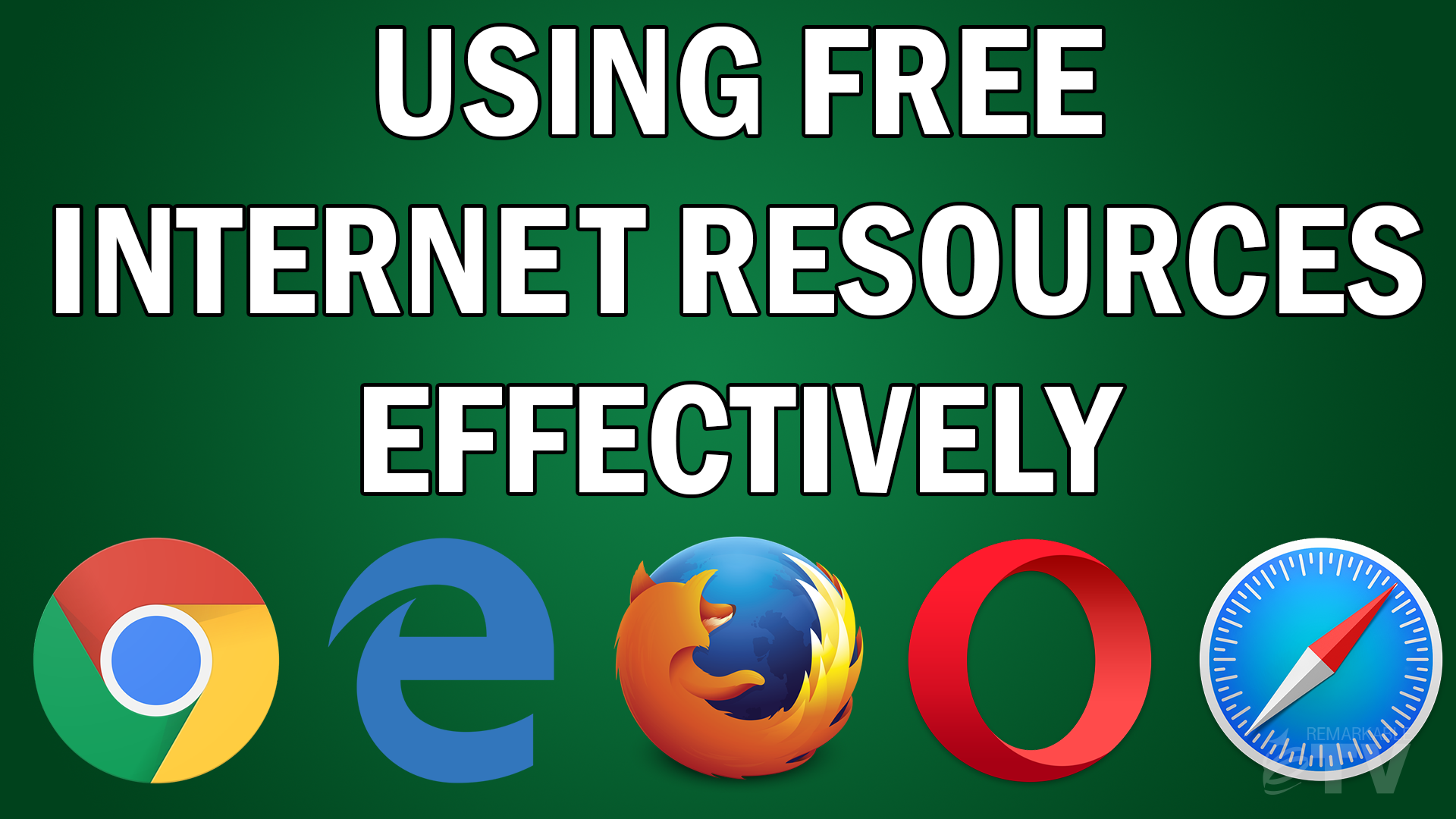 Using Free Internet Resources Effectively [VIDEO] with Kevin Eikenberry