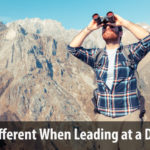 What's Different Leading at a Distance