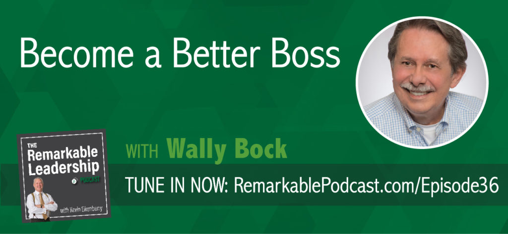 "Leadership is an ongoing process and great leaders continue to learn because they are curious. They don't necessarily learn from their experiences but by reflecting on their experiences. Kevin and Wally Bock discuss learning goals, relationships, and why to ""not be the event."" Wally learned leadership as a U. S. Marine, an executive in a multi-national corporation, and as the owner of a small business focused on improving leadership for his clients."