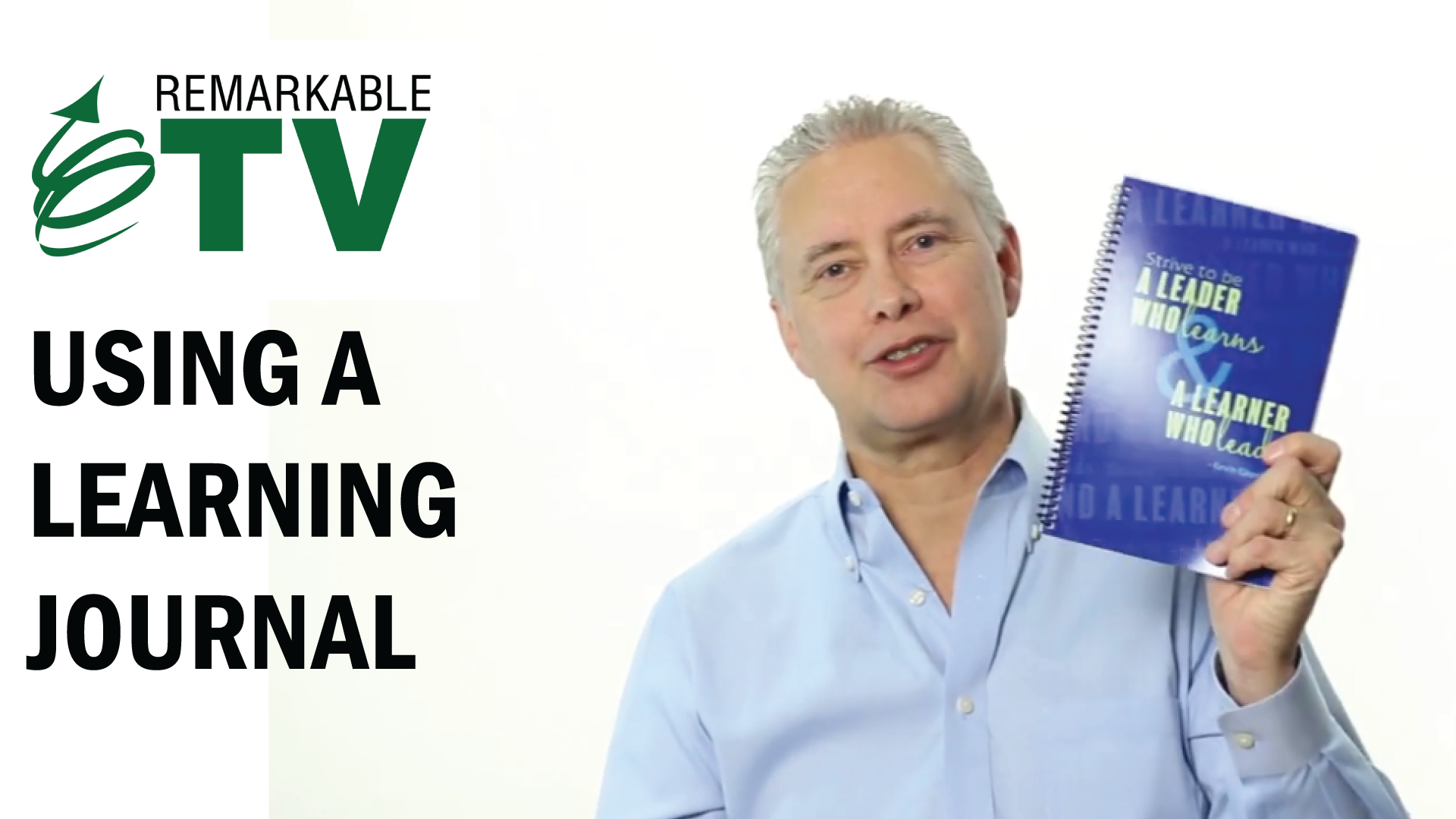 Video image for Using a Learning Journal with Kevin Eikenberry