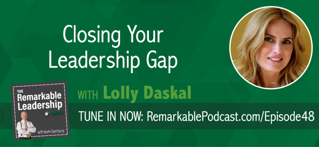 Leaders are coaches. They ask the right questions and they deliver messages with empathy. Lolly Daskal, founder of Lead from Within and the most inspiring person in the world according to the Huffington Post, shares with Kevin her thoughts on coaching and how it can be used to empower and engage people to reach their potential.