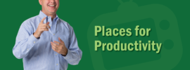 Places for Productivity video with Kevin Eikenberry