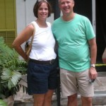 Kevin and Lori at Hemmingway House