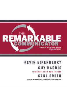 Remarkable Communicator