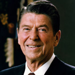 Ronald Reagan as a leader