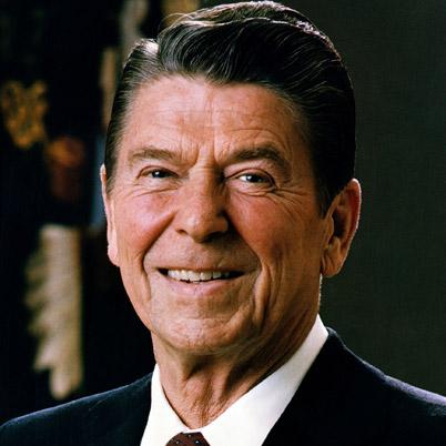 Ronald Reagan as a leader