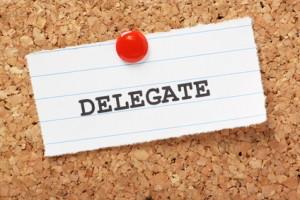 after you delegate