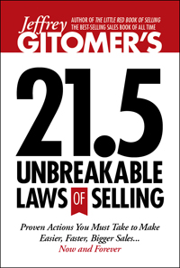 Unbreakable Laws of Selling