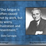 Fatigue and worry