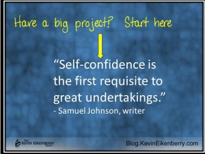 self confidence and project success