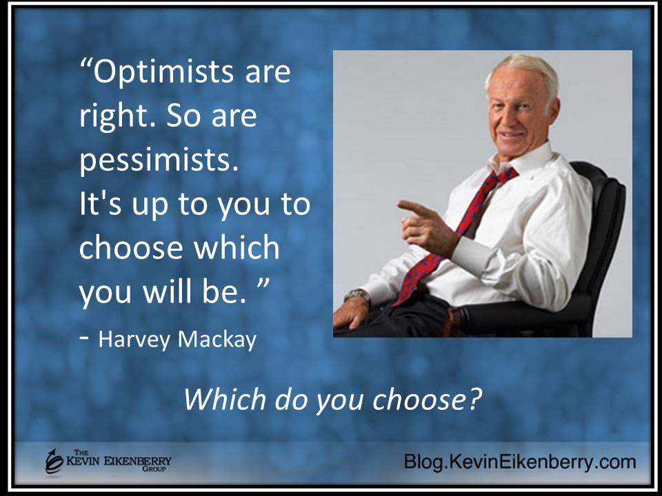 are you an optimist or a pessimist