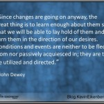 John Dewey on change