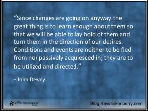 John Dewey on change