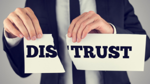 leadership distrust