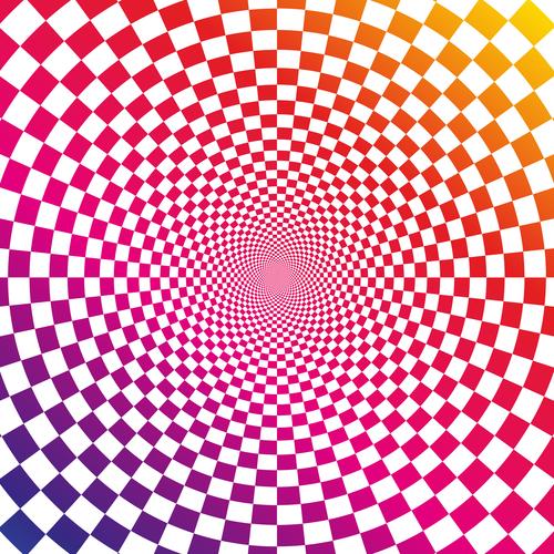 Illusion background