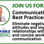 Communication Best Practices: Eliminate negative attitudes and improve relationships