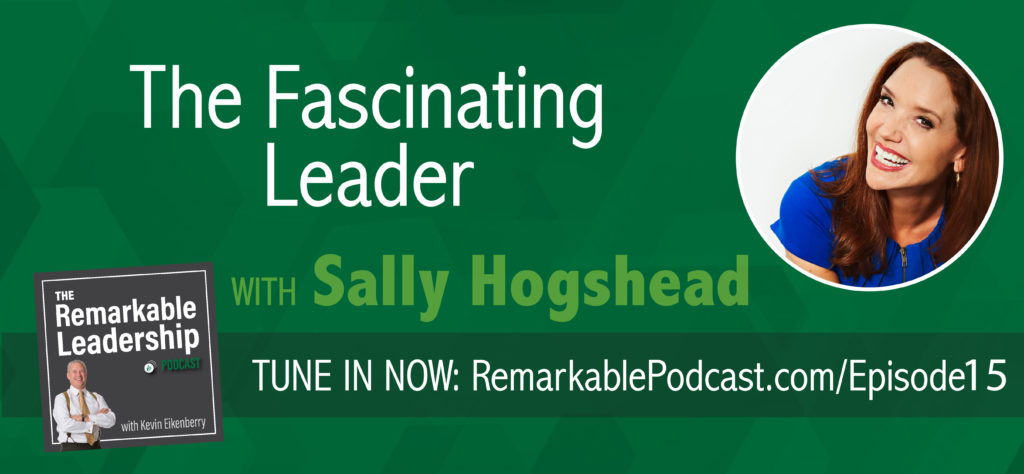 "Why are some brands and people more captivating and memorable than others? In a distracted, overcrowded world, how do some leaders break through the noise to influence behavior, beliefs, and buying decisions? In today's episode of The Remarkable Leadership podcast, I'm joined by world-class branding expert, researcher, and bestselling author, of ""Fascinate: Your 7 Triggers to Persuasion and Captivation,"" Sally Hogshead, as we explore the ""Fascination Advantage,"" and its application in entrepreneurship and leadership. If you've ever wondered how the world sees YOU, you won't want to miss this exciting episode, as we learn how measuring our fascination factors can help us become better leaders."