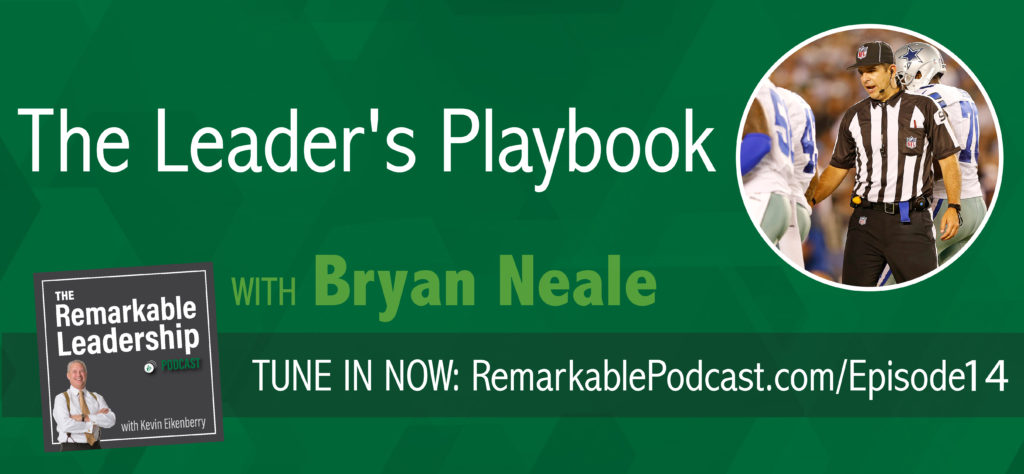 What do football and leadership have to do with each other? Turns out, there are many parallels between the two, as discussed in today's Remarkable Leadership episode. Join the conversation with Bryan Neale, co-host of The Advanced Selling podcast, sales consultant/trainer and NFL official, as we discuss the similarities between sales and football. Looking for more leadership learning and resources? Visit www.remarkablepodcast.com for updates, and join our LinkedIn Group of like-minded leaders.
