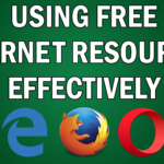 Using Free Internet Resources Effectively