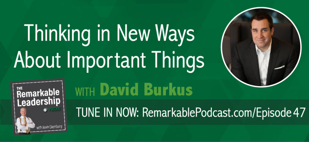 Today David Burkus joins Kevin to discuss his latest book, <em>Under New Management</em>, which challenges traditional workplace policies and proves that they are dated or simply not working  — and reveals what does. David is also an associate professor of management at Oral Roberts University and speaks to the new generation of employees, aka Millennials.
