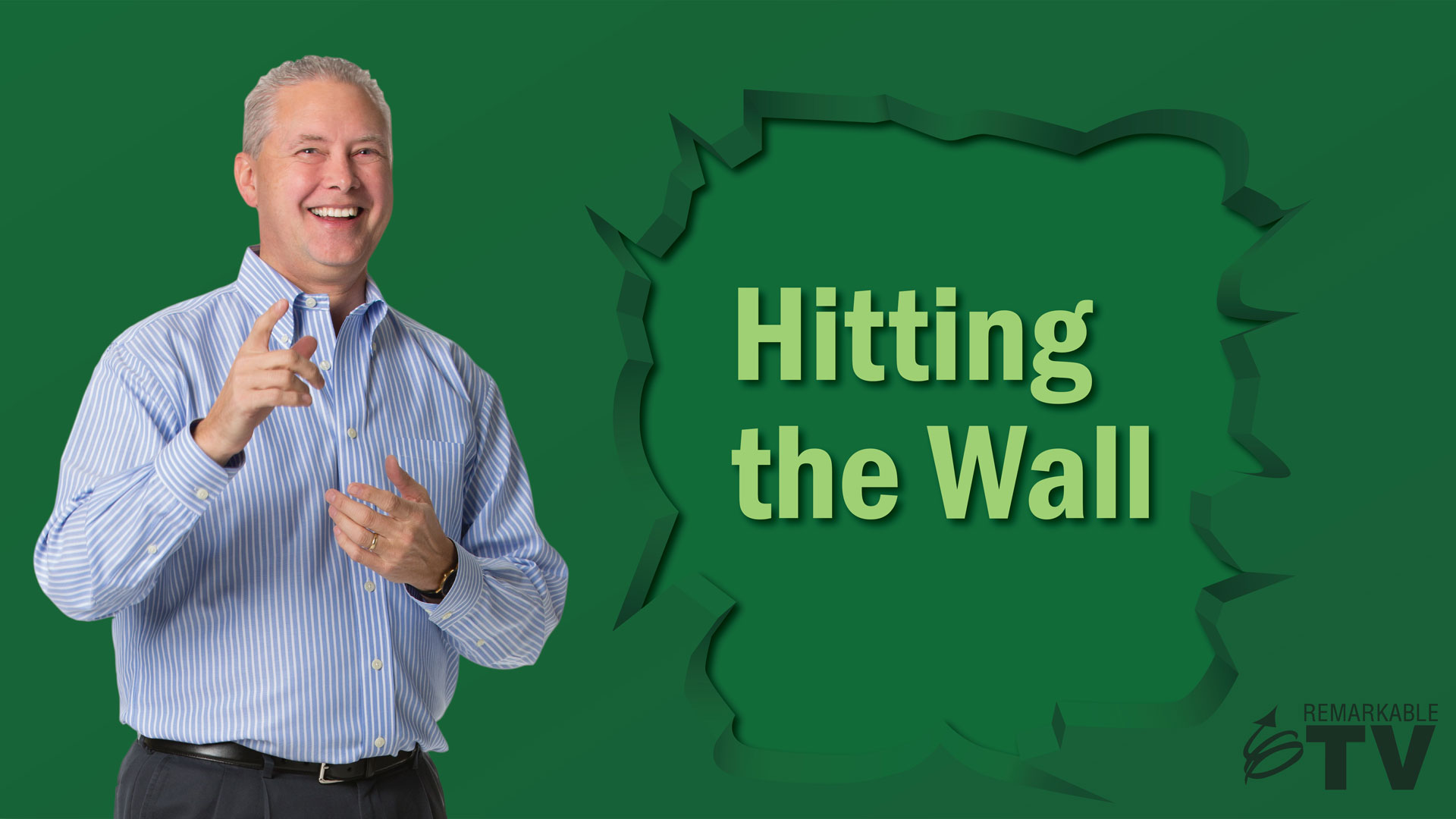 A video about hitting the productivity wall with Kevin Eikenberry