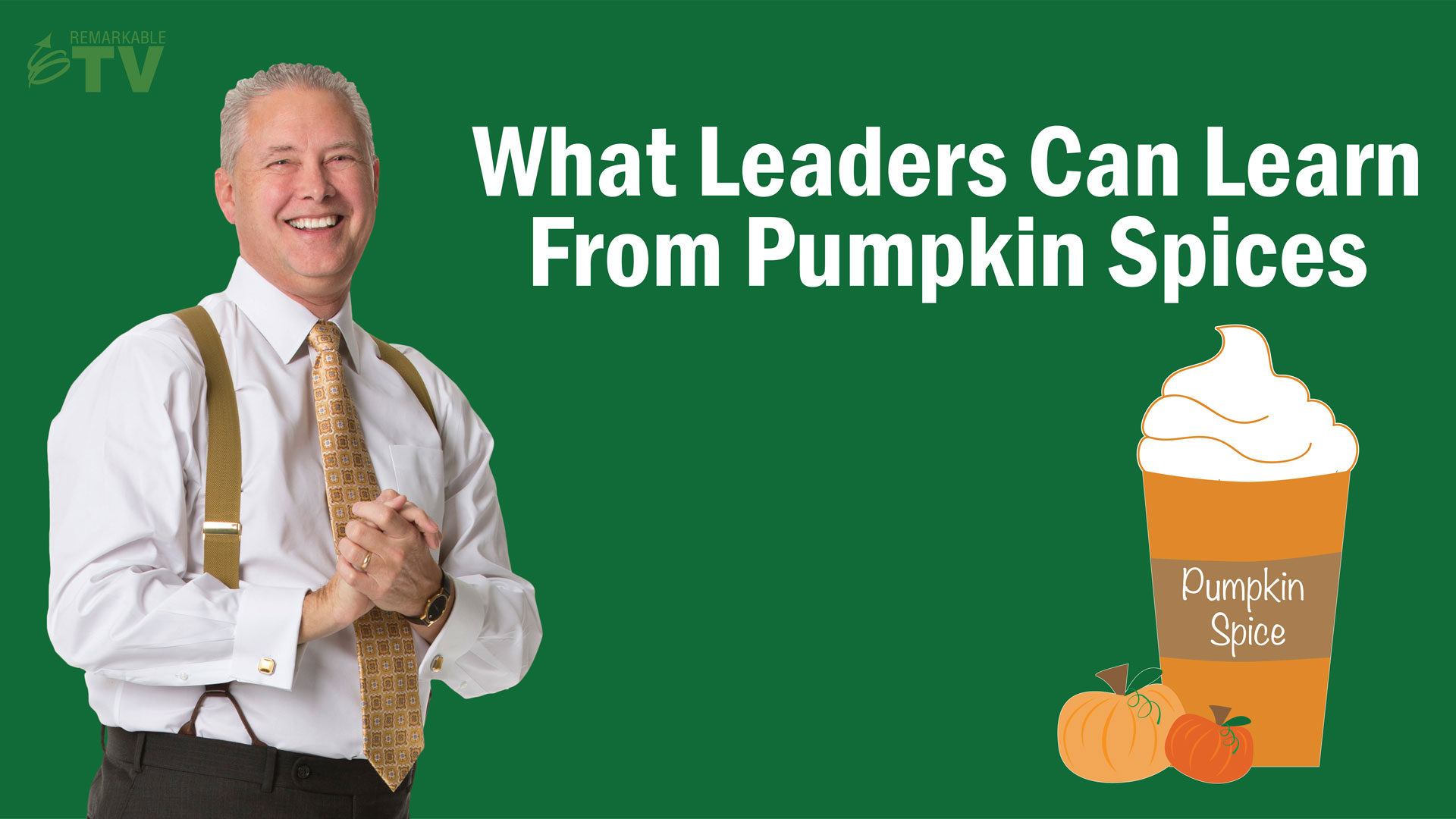 What leaders can learn from pumpkin spices