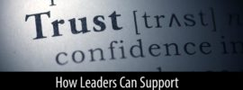 Leaders support remote trust building