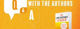 Remote Leadership Q & A Webinar