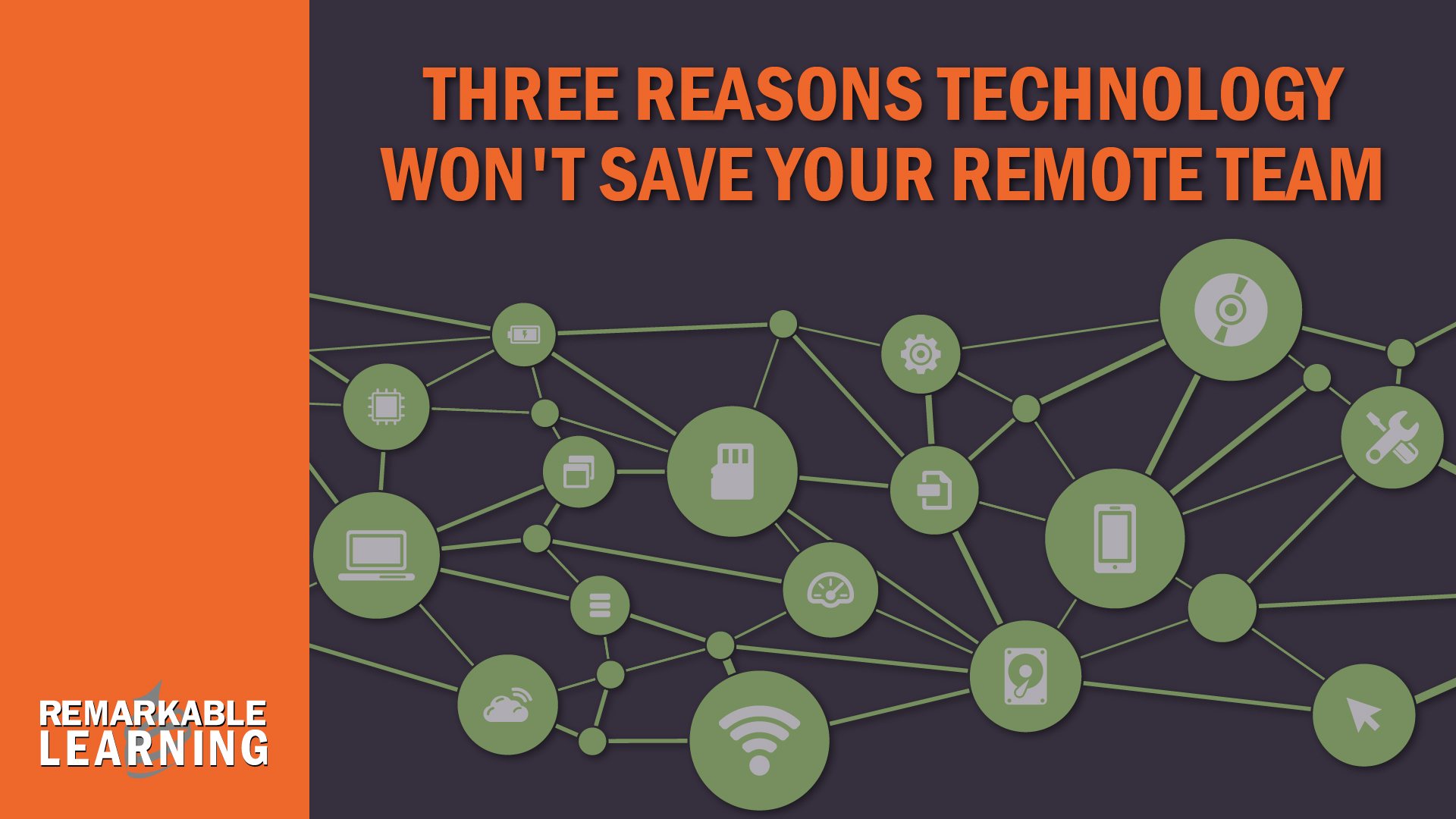 Technology isn't your savior