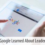 leading at Google