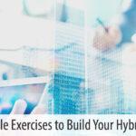 hybrid team building